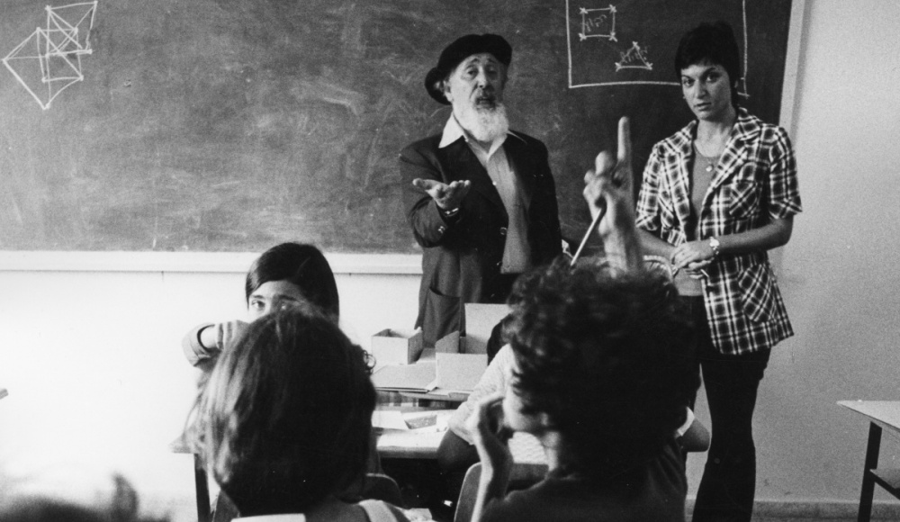 1980s: Prof. Reuven Feuerstein teaches his method of learning called Instrumental Enrichment